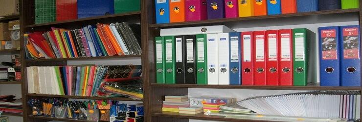 W naszych punktach posiadamy niezbędne artykuły papiernicze, biurowe oraz druki akcydensowe